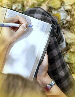 Anotar en una hojas cosas importantes que quieras realizar