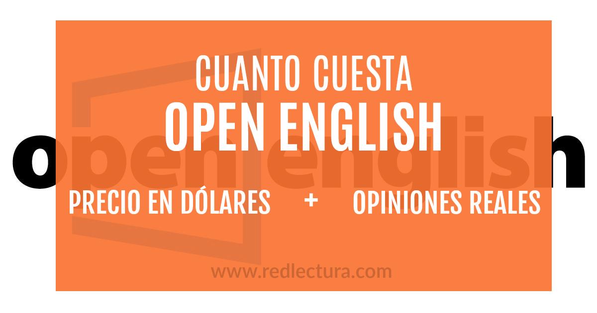 cuanto cuesta Open English Costo Real