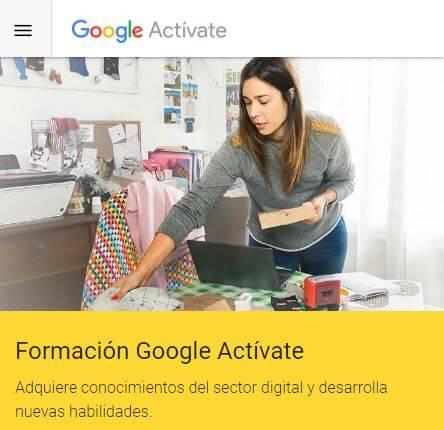 formación gratuita activate de google